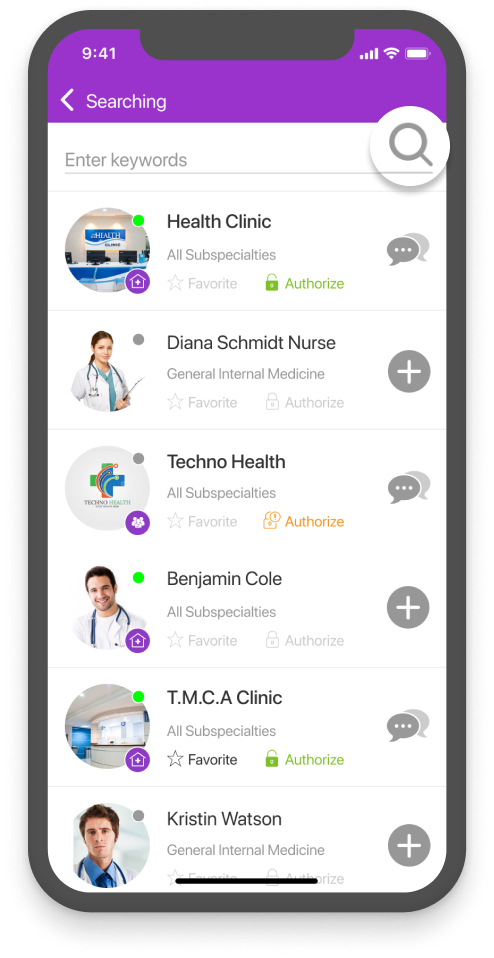 Search And Choose A Health Expert